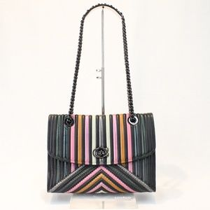 Coach Parker Colorblock Black